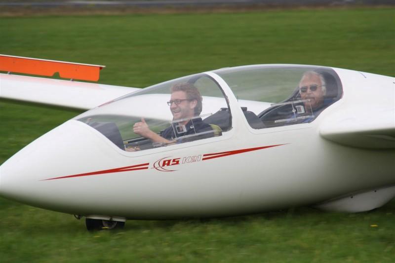 Wat een lol zo'n landing!
