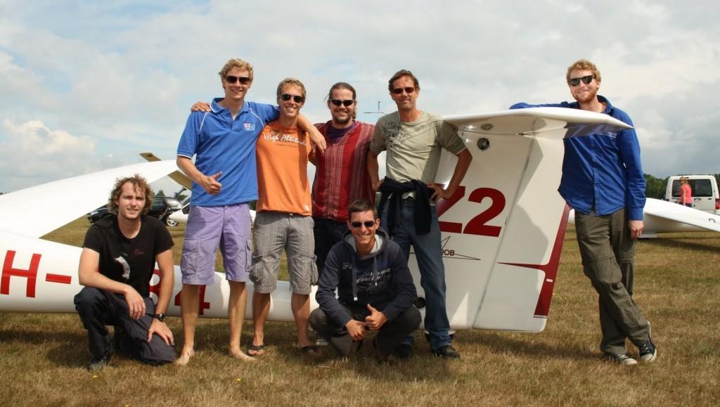 Het team van de ZES bij de Nationale Juniorenwedstrijden 2013